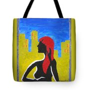 Silence In The City Tote Bag