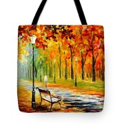 Silence Of The Fall Tote Bag
