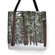 Silence Of The Woods Tote Bag