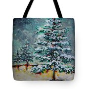 Silence Tote Bag by Vickie Warner