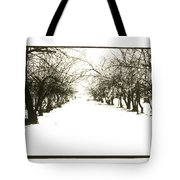 Silenced By The Snow Tote Bag