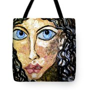 Silent Blue  Tote Bag