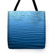 Silent Blue Tranquility Tote Bag