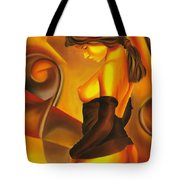 Silent Contemplation Tote Bag