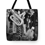 Silent Film Still: Music Tote Bag