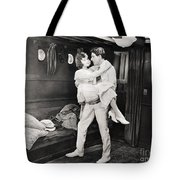 Silent Film Still: Ships Tote Bag