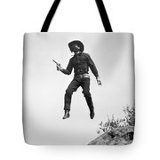 Silent Film Still: Western Tote Bag