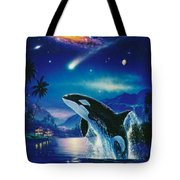 Silent Journey Christian Riese Lassen Tote Bag