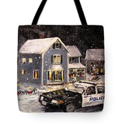 Silent Knight Tote Bag