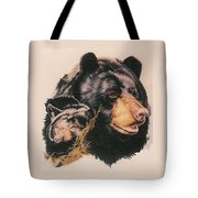 Silent Majesty Tote Bag