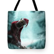 Silent Night Unholy Night Tote Bag