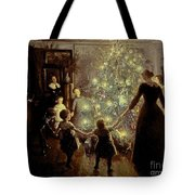 Silent Night Tote Bag by Viggo Johansen