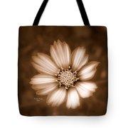 Silent Petals Tote Bag