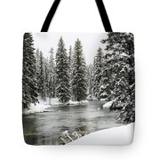 Silent River Tote Bag