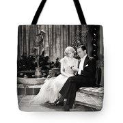 Silent Still: Couples Tote Bag
