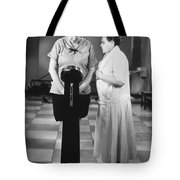 Silent Still: Weight Tote Bag