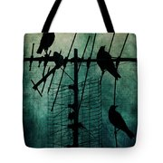 Silent Threats Tote Bag by Andrew Paranavitana