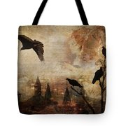 Silent Watchers Tote Bag