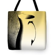 Silhouette And Shadow Play Tote Bag
