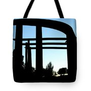 Silhouette At Sundown Tote Bag