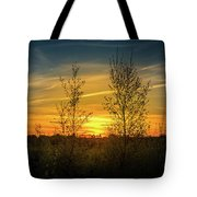 Silhouette By Sunset Tote Bag