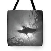 Silhouetted Tote Bag