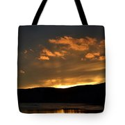 Silhouettes And Sunsets Tote Bag