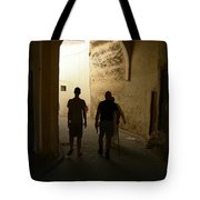 Silhouettes In Fez Tote Bag