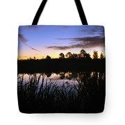 Silhouettes Of Sunrise Tote Bag