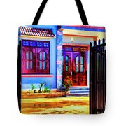 Silk Factory Owners Home Tote Bag