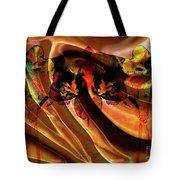 Silk Folds Tote Bag