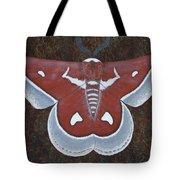Silk Moth Tote Bag
