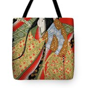 Silk Painting Tote Bag