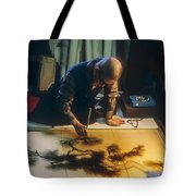 Silk Screen Artist Tote Bag