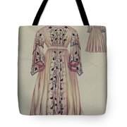 Silk Taffeta Costume Tote Bag