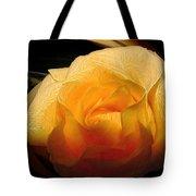 Silken Yellow Rose Tote Bag