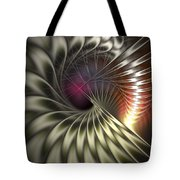 Silky Petals Tote Bag