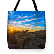 Silly Sunset Tote Bag