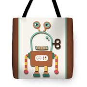 Silly Wind-up Toy Tote Bag