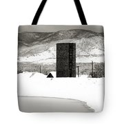 Silo And Silence Tote Bag
