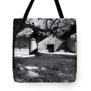 Silo In Black And White Tote Bag