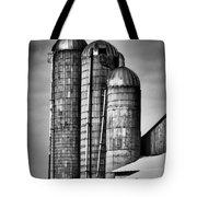 Silos Bw Tote Bag