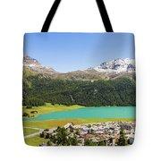 Silvaplana In Canton Graubunden, Switzerland Tote Bag