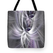 Silver Abstract Ascension. Mystery Of Colors Tote Bag