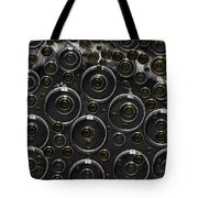 Silver And Gold Collage Tote Bag