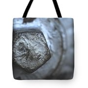 Silver Bolt Tote Bag