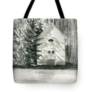 Silver City Church Tote Bag