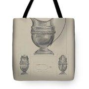 Silver Creamer Tote Bag