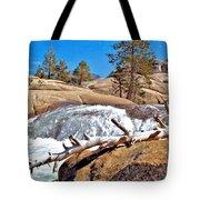 Silver Creek Up High Tote Bag