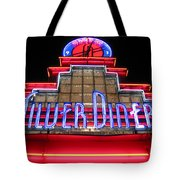 Silver Diner Tote Bag